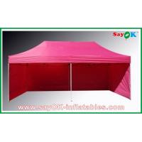 Buy cheap L6m x W3m Gazebo Folding Tent Canopy Sun-resistant With 3 Sidewalls Iron Frames from wholesalers