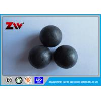 Buy cheap Cement plant low chrome grinding cast iron balls for ball mill / Power Plant from wholesalers