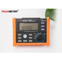 Buy cheap Multifunctional Earth Ground Resistance Tester 0 Ohm To 4K Ohm And 100 Groups Display from wholesalers