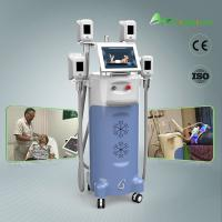 Buy cheap crolipolysis slimming technology beauty salon equipment/ 4 handles work together from wholesalers
