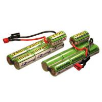 Buy cheap 600mAh 8.4V NIMH Battery Packs , Air Soft Gun Battery With Capacity from wholesalers