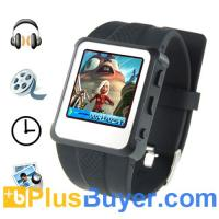 Buy cheap Digital Watch MP4 Player (1.5 inch, 8GB, Black) from wholesalers