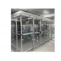 Buy cheap Assembly Line Class 100 Laminar Air Flow Cabinet / Softwall Clean Room product