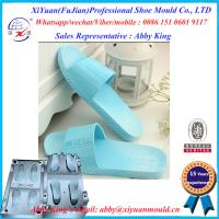 Buy cheap Factory New Mould Eva Injection Men Size Slippers, Leather Crystal Eva Mould Slipper molds from wholesalers