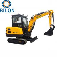 Buy cheap 2.2T Road Builder Excavator Small Mini Excavator With 2200 Kg Operating Weight product