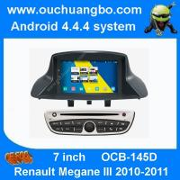 Buy cheap Ouchuangbo S160 Renault Megane III 2010-2011 audio dvd radio android 1080P android 4.4 BT from wholesalers