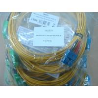 SC / APC Connector Fiber Optic Patch Cable , SM Duplex 3.0mm LSZH Cable