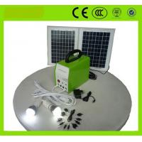 Buy cheap portable solar generator solar energy system for home lighting, TV, Fans, mobile charger from wholesalers