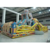 Buy cheap Indoor Playground Robot Inflatable Fun City Safe Nontoxic For Amusement Park from wholesalers