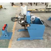 Buy cheap Long Tube Rotary Welding Positioner With Movable Roller Stand Vertical Control Box from wholesalers