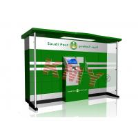 Buy cheap Out Door Stand Alone Self Service Postal Kiosk LCD Interactive from wholesalers