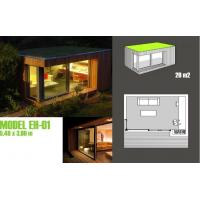 Buy cheap Prefabricated Office Garden Studios , Fire Proof Contemporary Garden Studios from wholesalers
