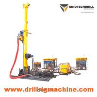 Buy cheap Full Hydraulic Man Portable Drill Rig with 50 KN Lifting Capacity 0 - 900 rpm Speed Range from wholesalers