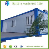 Buy cheap cheap portable houses prefab steel frame container house insulation kits from wholesalers
