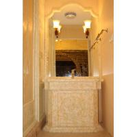 Buy cheap Villa Onyx Stone Wall / Wash Hands Basin , Resistance To Staining from wholesalers
