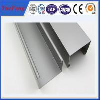 Buy cheap high quality industry aluminium profiles, 6063 t5 aluminum channel extrusion from wholesalers