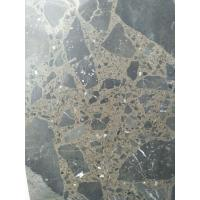 Buy cheap Maron Emperador Dark Quartz Stone Tiles Recyclable Feature Eco - Friendly from wholesalers