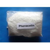 Buy cheap Phenacetin White Raw Hormone Powders For Analgesic And Antipyretic , CAS 62-44-2 from wholesalers