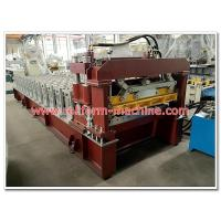 Buy cheap Corrugated Oven Baked Color Alluminium Steptiles Roofing Panel Corrugation Machine from wholesalers