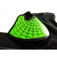 Buy cheap Role play custom green spider-man  EL mask hot sale popular music party  glow in the dark light sound activated led mask from wholesalers