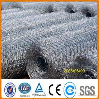 Buy cheap galvanised hexagonal wire mesh for chicken from wholesalers