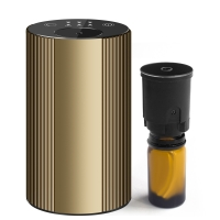 Buy cheap Golden Color 20ml bottle size Waterless Essential Oil Nebulizer for Battery-Operated USB Diffuser Waterless from wholesalers