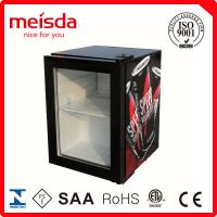 Buy cheap 21L Compressor Cooling Mini Glass Single Door Counter Top Beer Bottle Juice Cold Drink Display Beverage Showcase Cooler from wholesalers