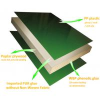 Buy cheap WPC Plyform plastic plywood frame formwork system reusable for concrete forming from wholesalers