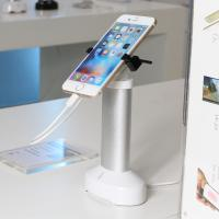 Buy cheap Retail security display cell phone holder with alarm sensor and charging cord for phone shops from wholesalers