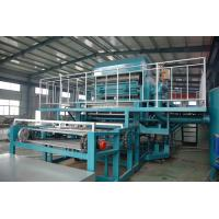 Buy cheap Rotary Type Fruit Tray Production Line , Egg Tray Making Machine from wholesalers