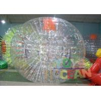 Buy cheap Clear Human Inflatable Bumper Bubble Ball / Huge Full Body Bumper Balls from wholesalers