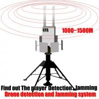 Buy cheap High Coverage Drone Detection Device Real Time Measurement For Night / Bad Weather from wholesalers