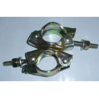 Buy cheap Scaffold coupler, swivel coupler, British swivel clamp for scaffold pipe from wholesalers