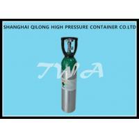 High Pressure Aluminum Gas Cylinder 10L Safety Gas Cylinder for Medical use