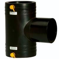 Buy cheap hdpe water supply pipe fittings ElECTRO FUSION tee from wholesalers