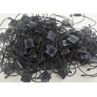 Buy cheap Engraved Plastic Seal Tag PP PS PA ABS Material Square Shape Balck String Body from wholesalers