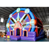 Buy cheap Inflatable Bounce House Combo Ferris Wheel Castle With Slide from wholesalers