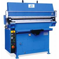 Buy cheap Hydraulic leather belt machine cutting machine leather cutting machine from wholesalers