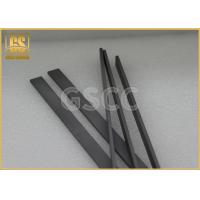 Buy cheap Fine Grain Finishing Tungsten Carbide Flat Bar , OEM Carbide Square Bar from wholesalers