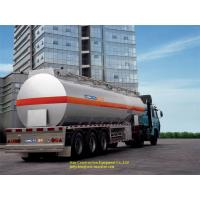 Buy cheap Sinotruk Diesel Propane Tank Trailer Propane Transport Trailers With Tri Axle from wholesalers