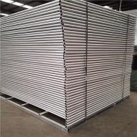 Buy cheap Temporary Fencing Panels hot dipped galvanized Before welding OD 32 pipes x 2.00mm 2100mm x 2400mm from wholesalers