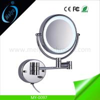 Buy cheap wall mounted double side LED makeup mirror from wholesalers