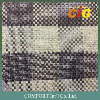 Buy cheap Luxious Linen Sofa Upholstery Fabric / Jacquard car seat upholstery fabric product