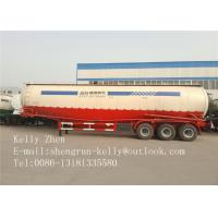 Buy cheap Custom Air Compressor Bulk Cement Trailer 25 Cbm SHENGRUN Brand from wholesalers