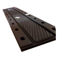Buy cheap damping shock absorption black rubber bridge expansion joint manufacturers from wholesalers
