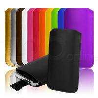 Buy cheap 12 COLOURS LEATHER PULL-TAB POUCH COVER CASE SLEEVE SKIN FOR NOKIA X / X+ PHONE from wholesalers