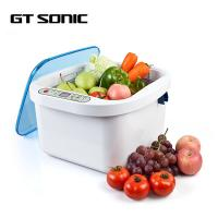 Buy cheap 160W Ozone Fruit Vegetable Sterilizer , Kitchen Ultrasonic Cleaner 12.8L Capacity from wholesalers