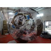 Buy cheap Amazing Inflatable Rolling Human Body Zorb Football With Removed Seats from wholesalers