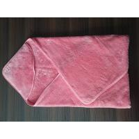 Buy cheap microfiber coral fleece baby hooded towels from wholesalers