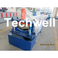 Buy cheap Manual / Automatical Decoiler Top Hat Cap / Ridge Flashing Roll Forming Machine from wholesalers